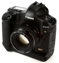 Canon EOS-1Ds Mark II full frame DSLR