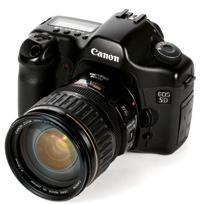 canon eos 5d full frame dslr