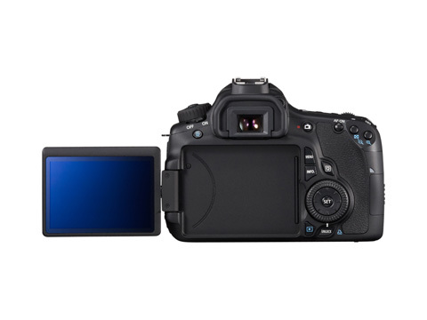 Canon D60 back image