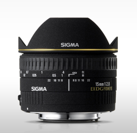 Sigma 15MM F/2.8 EX DG Diagonal