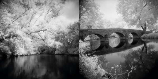 Images taken with infrared film