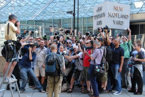 Photographers protest