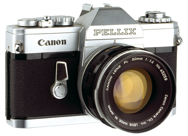 Canon Pellix camera