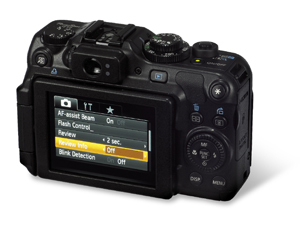 Canon G12 back