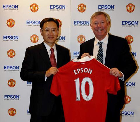 Epson Man Utd deal