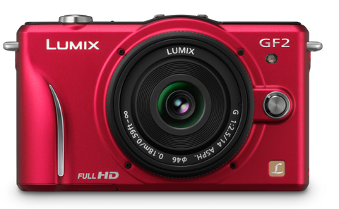 Lumix GF2 in red
