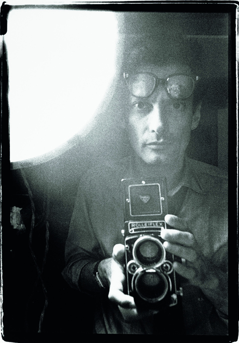 Avedon self-portrait