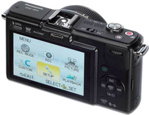 Panasonic Lumix DMC-GF2 back