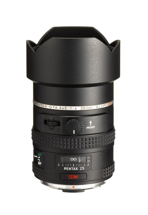Pentax 25mm lens