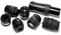 Macro lenses. 30-70mm lenses