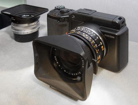 Ricoh Leica lens unit