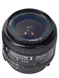 Nikkor 28mm f/2.8D
