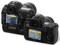 Nikon D3x and Sony Alpha 850 LCD screens