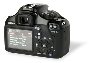 Canon EOS 1100D build and handling