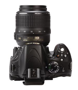 Nikon D5100 top
