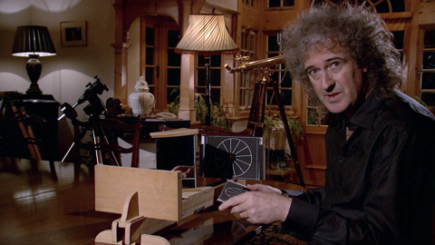 Brian May TV still