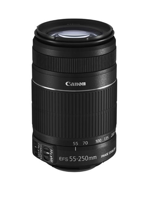 Canon EOS 55-250mm