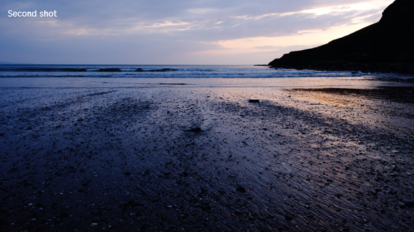 Saunton evening - the light is good but the foreground is too messy