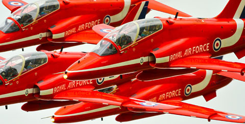 Tim Laurence Red Arrows