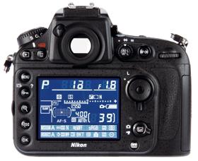 Nikon D800 LCD