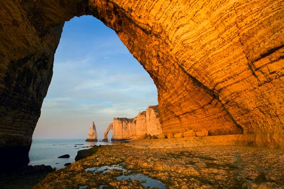 cliffs of Étretat, France
