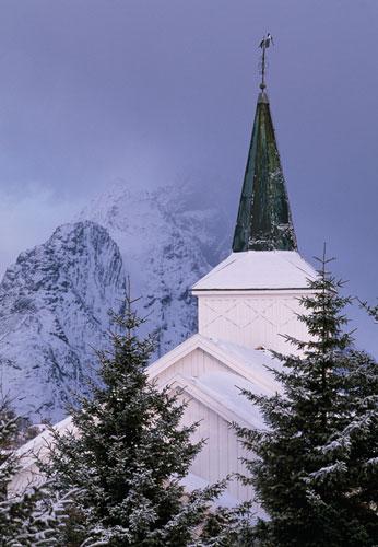 Reine church, Norway