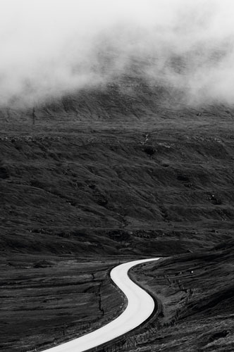Route 10 near Skalafjordur