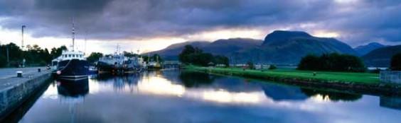 Corpach, Scotland Panorama