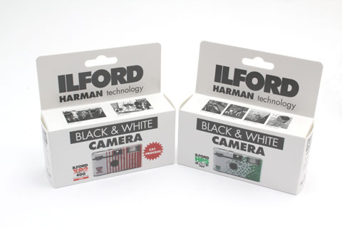 Ilford b&w cameras