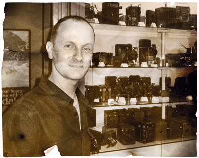 Rob Smith vintage camera equipment