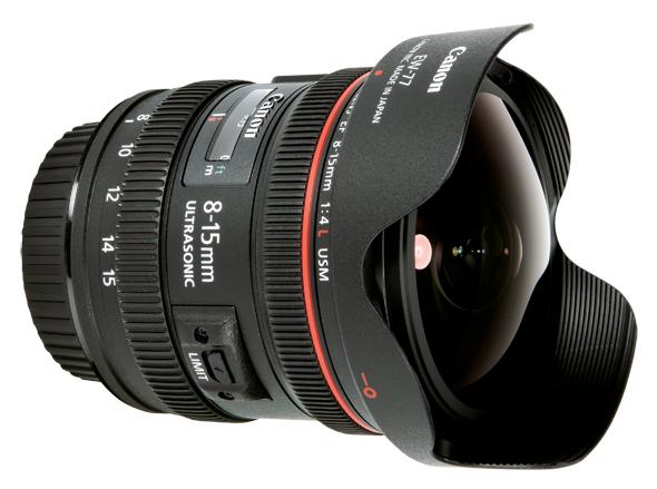 Canon EF 8-15mm f/4L Fisheye USM Lens - Film Store Rental