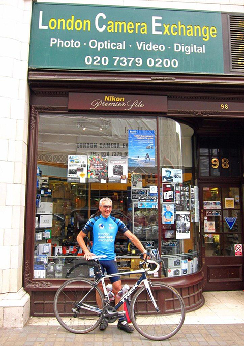 Camera Shop Boss Beats Cycle Ride Target Amateur