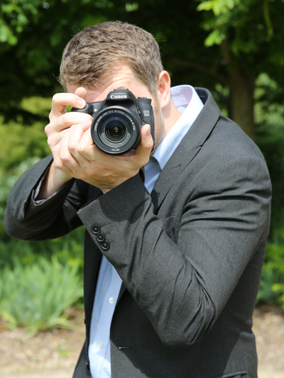 Richard Sibley with the Canon EOS 70D