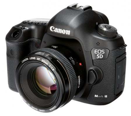 Canon 5D MKIII front
