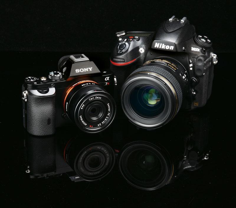 Nikon D800e Vs Sony Alpha 7r Camera Comparison Test