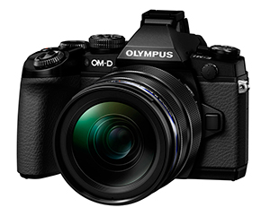 Olympus OM-D E-M1 front