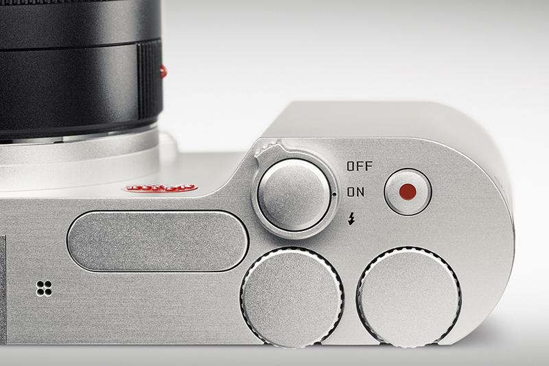Leica T controls close-up