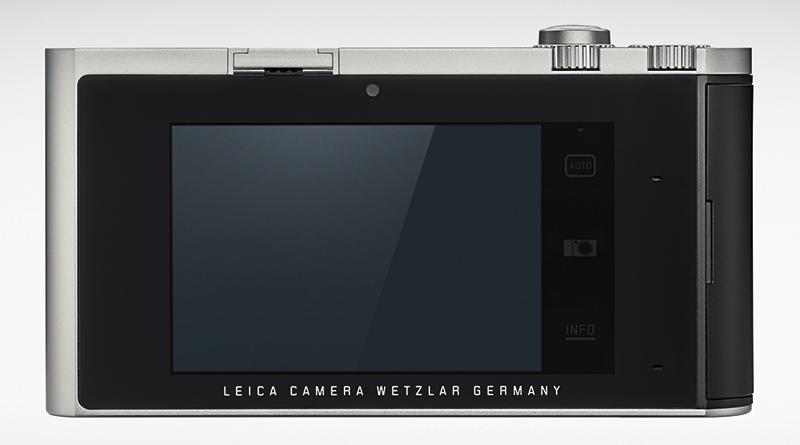 Leica T rear view