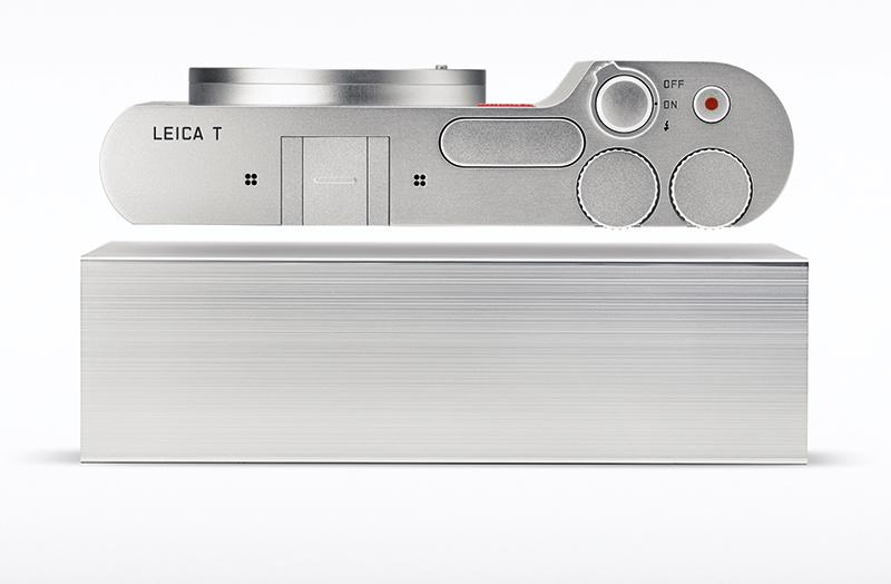 Leica T aluminium block
