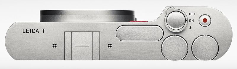 Leica T top down