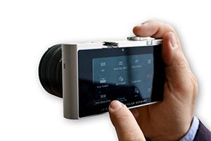Leica T (Type-701) touchscreen operation