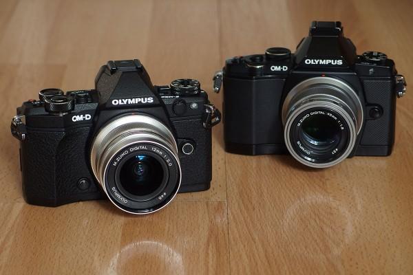Olympus OM-D E-M5 Mark II and OM-D E-M5