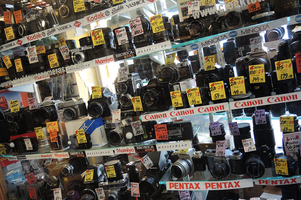 How Brighton's oldest camera shop is still surviving and thriving ...