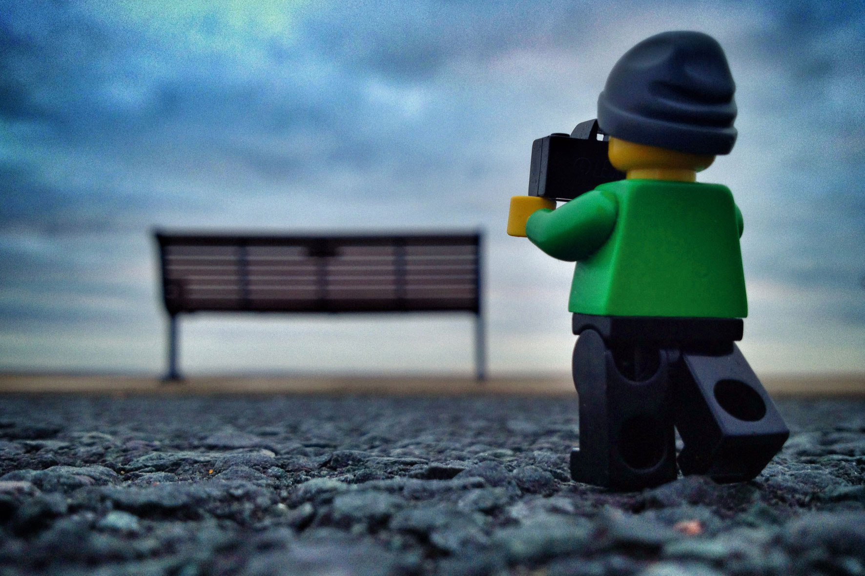 legography - a view of the city