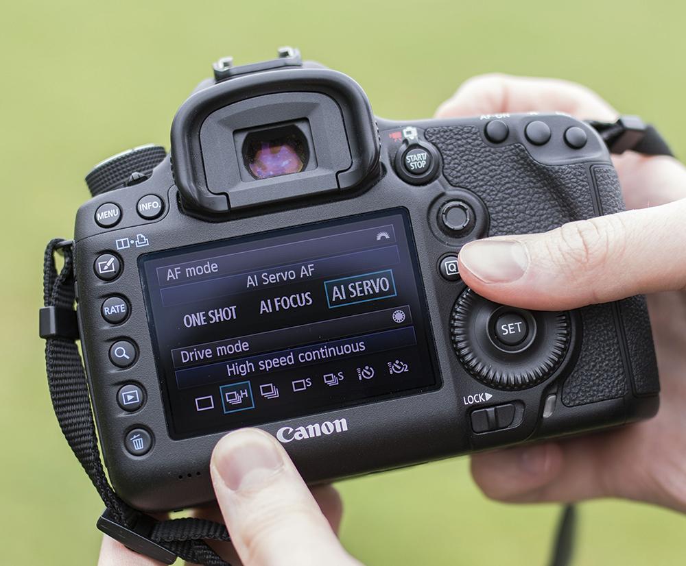 Canon EOS 5D Mark III Step2