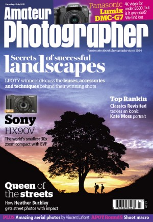Amateur Photographer 4 July 2015 cover