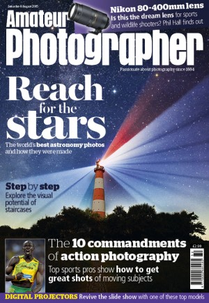 Amateur Photographer 8 Aug 2015 cover