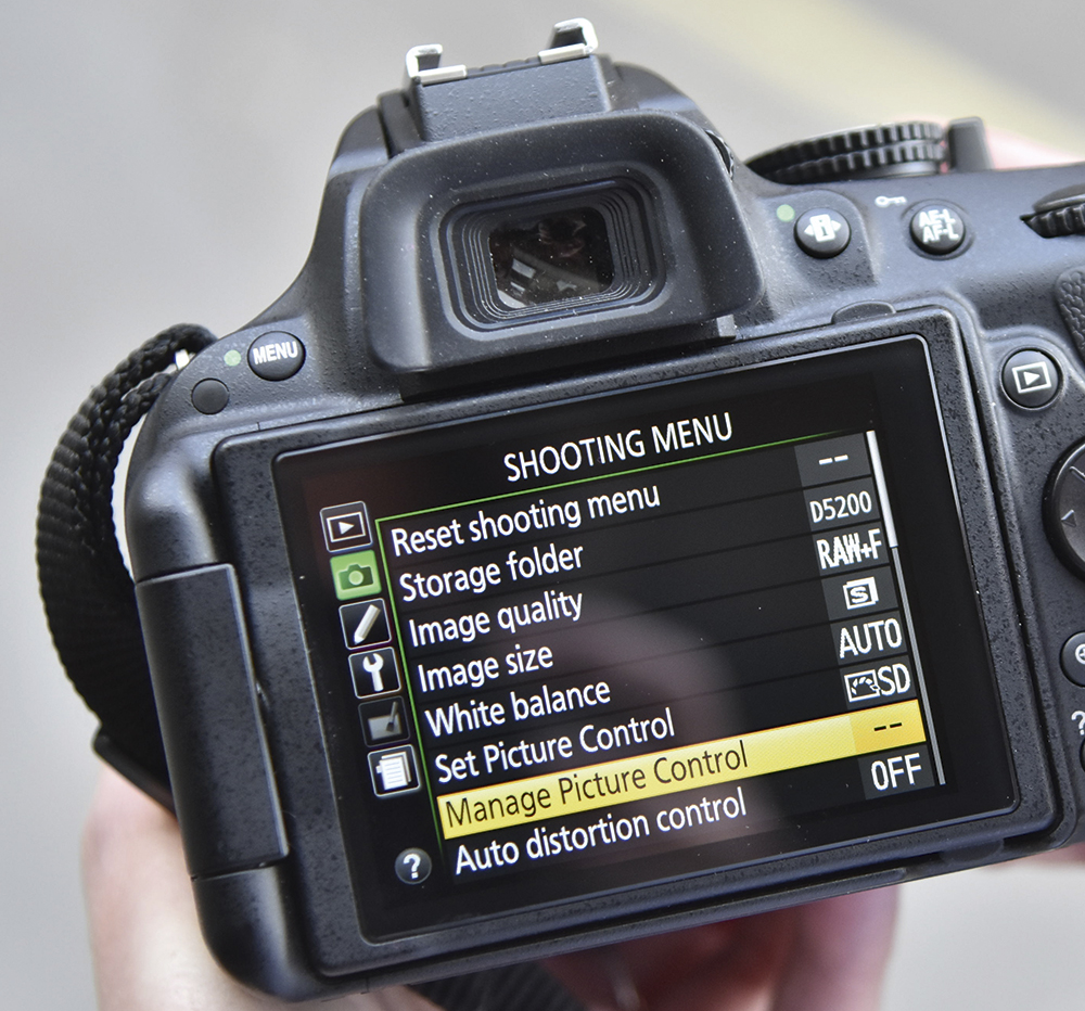 Image result for nikon neutral picture control