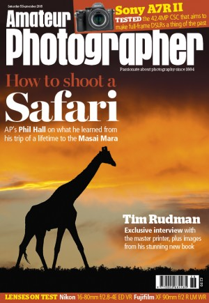 Amateur Photographer cover 5 Sept 2015 R