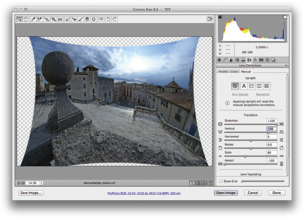 Photo editing masterclass: Correcting geometric distortion - Amateur